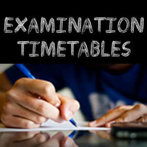 exam time table