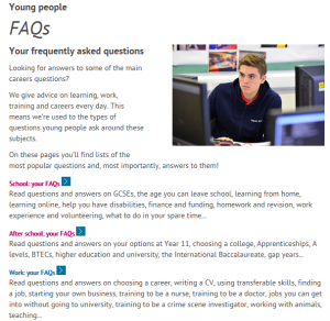 National Careers Service screen shot 3