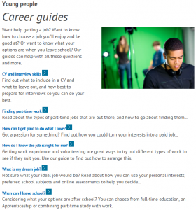 National Careers Service screen shot 4
