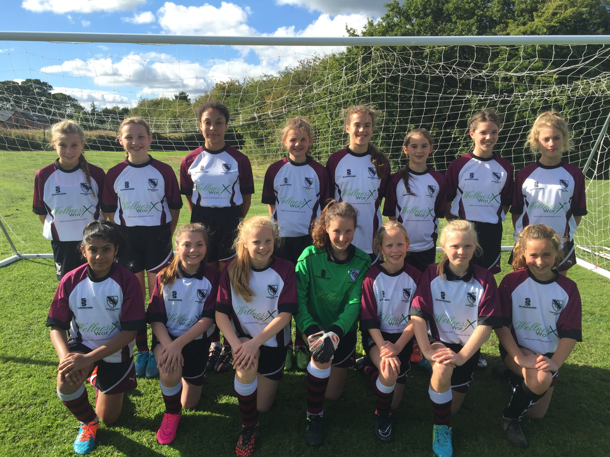 Girls Under 13 Football