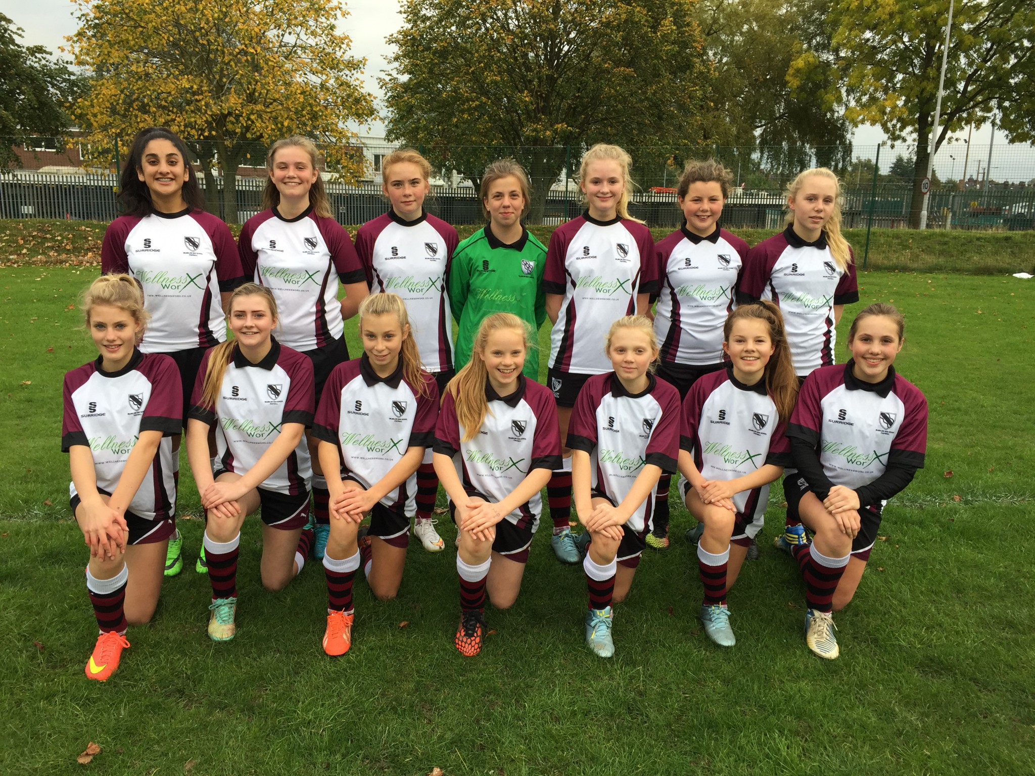 Girls Under 14 Football